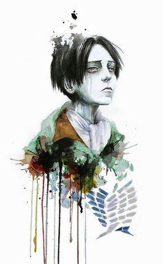 Levi watercolor paint