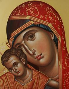 Religious Pictures, Religious Icons, Religious Art, Madonna Art, Madonna And Child, Virgin Mary Painting, Saint Mark's Basilica, Greek Icons, Subject Of Art