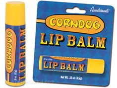 weird flavors of lip balm...never gonna be able to look at pizza or pickles the same again...