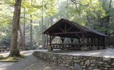 Cherokee National Forest - Horse Creek Recreation Area near Greeneville, TN