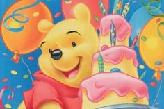 Winnie the pooh happy birthday images -cartoons winnie the pooh character