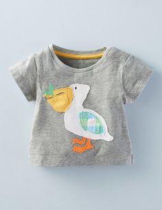Big Appliqué T-shirt 71470 Clothing at Boden