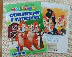 Revista Colorir Tico e Teco