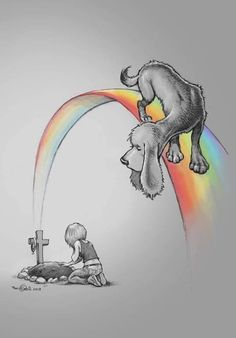 dog loss quotes grief the rainbow bridge - dog. I Love Dogs, Cute Dogs, Miss My Dog, Pet Loss Grief, Loss Of Pet, Baby Animals, Cute Animals, Dog Poems, Pet Remembrance