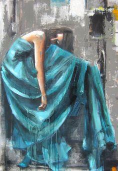 La sieste farniente par Joan Côté, artiste présentement exposée aux Galeries Beauchamp. www.galeriebeauchamp.com