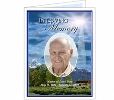 A Funeral Prayer Card Is An Innovative And Excellent Way Of