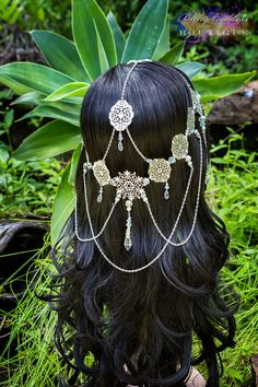 Snow Queen Circlet by BlingGoddessBoutique on Etsy, $139.00