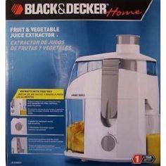 Black & Decker Fruit & Vegetable Juice Extractor Review