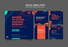 Web Design, Social Design, Graphic Design Trends, Graphic Design Inspiration, Graphic Design Templates, Social Media Trends, Social Media Branding, Social Media Banner, Social Media Template