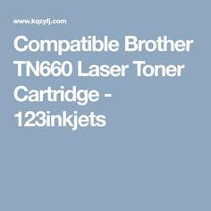 Compatible Brother TN660 Laser Toner Cartridge  - 123inkjets