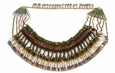 Collar Made of Colored Faience