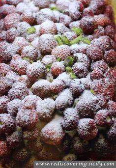Frutti di Brosco Sicilian Cake Recipe