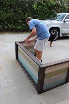 DIY Planked Wood Loveseat - Step 7