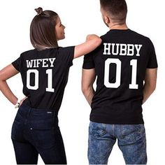Smarter Shopping, Better Living! Aliexpress.com Matching Couple Shirts, Couple Tshirts, Matching Couples, Matching Outfits, Sibling Shirts, Sister Shirts, Brother Sister, Funny Sister, Black Love
