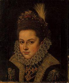 Retrato da princesa Isabel Clara Eugénia Datação:Século XVI