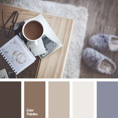 beige color, brown color, brown shades, color matching, gray and purple, lavender, light brown, shades of beige, winter color palette, winter color palette 2016, winter palette.