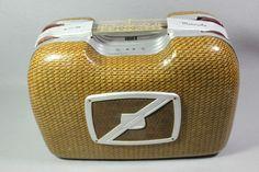 Vintage Motorola Portable Tube Picnic Suitcase Radio Model 68L11 Chassis HS-119   Collectibles, Radio, Phonograph, TV, Phone, Radios   eBay! Radios, Turn Your Radio On, Cb Microphone, Television Set, Antique Radio, Record Players, Music Radio, Jukebox, Speakers