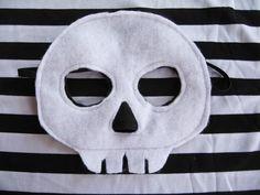 Felt Skeleton Mask