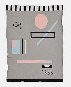 Hubert Baby Blanket by Marsha Golemac for Kate & Kate