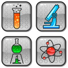 Science Clip Art | Science Icons 060111