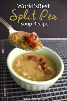 It's a keeper I have tried so many split pea soup recipes and this one is hands down the best. Great very simple but very delicious recipe. Freezes well too.