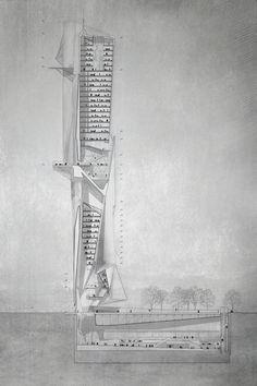 Atreo Skyscraper: Reinterpretation of the Ancient Greek Myth of Atreus - eVolo | Architecture Magazine
