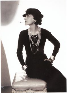 Coco Chanel, 1935  Photo Man Ray