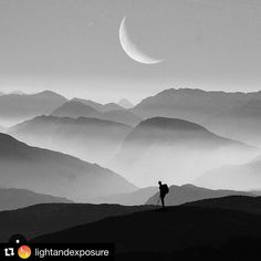 #Repost @lightandexposure  Sometimes you don't need color to capture a great image.  - Amazing : @nak_bali_ - #nikon #lightandexposure #photographer #sonyalpha #photography #wanderlust #twilight #instagood #follow #instalike #tree #art #nature #film #35mm #dusk #sky  #mistymountains #photooftheday #hiking #bw #moon #bnw #hawk #blackandwhite #canon #sony #festival