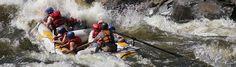 Rafting auf dem Fluss Ahr im Südtiroler Ahrntal
