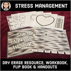 This resource is ideal to use with tweens, teens or adults to help them manage stressful emotions: stress, anxiety, anger, depression and so forth. It could be used for staff development or with kids. Anger Management Worksheets, Stress Management, Classroom Management, Social Skills Lessons, Coping Skills, Conscious Discipline, Behavior Interventions, Cooperative Learning, School Counseling