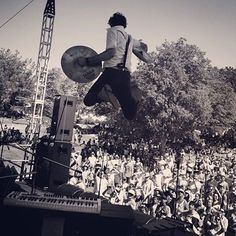 For King and Country performing in California. Accurate picture of what they are like live, the energy was incredible, they did not stop moving and jumping