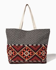 Cabo Aztec Tote | Charming Charlie