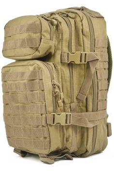 Pin it :-) Follow Us  :-)) zCamping.com is your Camping Product Gallery ;) CLICK IMAGE TWICE for Pricing and Info :) SEE A LARGER SELECTION of tactical backpacks  at http://zcamping.com/category/camping-categories/camping-backpacks/tactical-backpacks/ -  tactical, hunting, bags, camping, backpacks, camping gear, camp supplies -  Laptop backpack Flight carry on cabin size 42x20x25cm Rucksack Mil-Tec MOLLE travel holidays Backpack 30L Coyote « zCamping.com