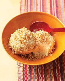 Mexican Snowballs: Coconut-covered ice cream provides a cool ending to any meal.