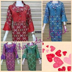 Ready dres batik