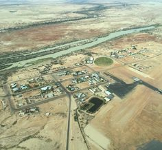 "Birdsville Outback Queensland. ""The little town that could!"" #thisisqueensland #visitqueensland #aerialphotography #birdsville #c210 #outbacktowns #westqld #myhometown #outbackaustralia by karenbrook"