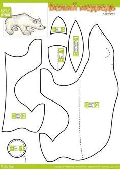 Polar Bear Stuffed Animal Pattern How To Make A Toy Plushie