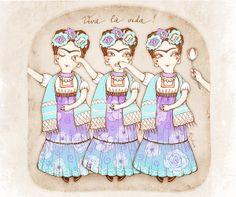 Frida Frida Frida by Anna Rusakova