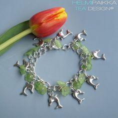 Helmipaikka Oy - Joka päivä on korupäivä - Helmipaikka. Charmed, Pendant Necklace, Bracelets, Jewelry, Charm Bracelets, Bijoux, Bracelet, Jewlery, Jewels
