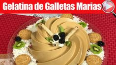 Gelatina de Galletas Marias con Cajeta - Casayfamiliatv