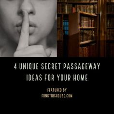 Secret Passageways in a Home Hide Your Stuff Yourself or Your Wine: Check out the designs of these four secret passageways for a home. Safe rooms, wine cellars, crawl through hideaways, and more… Faux Fireplace Mantels, Safe Schools, Creative Home, Creative Storage, Safe Room, Interior Design Advice, Secret Rooms, Wine Fridge, Italian Wine