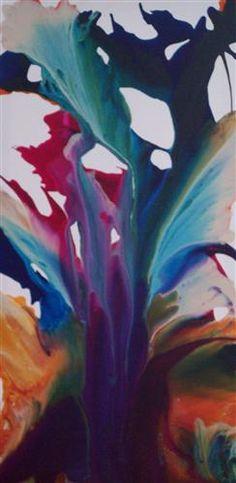 Violets by Krispen Spencer