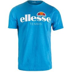 Hit nothing but winners on the court in the NEW Ellesse Men's Maglia Tennis Tee in Blue, Navy, and White! The tee comes in all three colors featured in the Italian brand's 2nd Serve collection. Printed on the chest is the color contrasting Ellesse logo that says tennis underneath. This men's tee comes with a classic crew neckline and short sleeves.