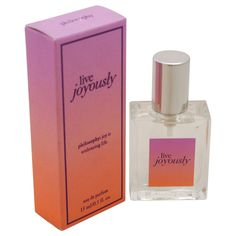 Live Joyously by Philosophy for Women - 0.5 oz EDP Spray (Mini)