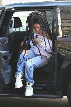 Rihanna, dreads