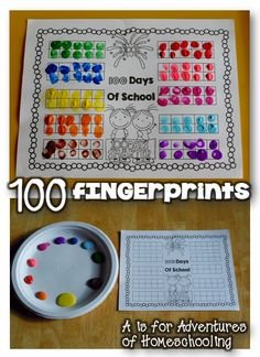 100th Day of School Math and Literacy!