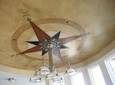 I want this ceiling, I bought a ceiling medalian, now I just have to get it done.
