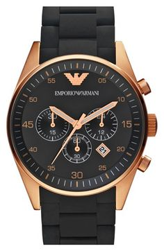 Emporio Armani Rose Gold Watch