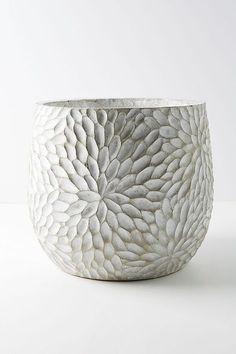 Slide View: 7: Chrysanthemum Pot Slab Pottery, Pottery Mugs, Ceramic Pottery, Pottery Art, Thrown Pottery, Pottery Painting, Pottery Wheel, Pottery Bowls, Porcelain Ceramics