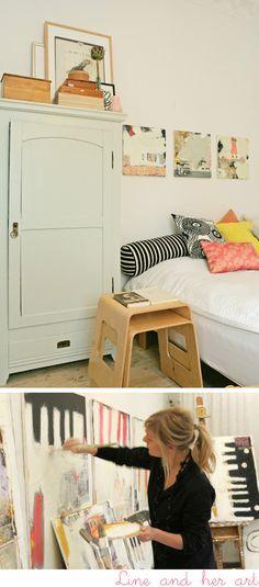 Beautifull Art, beautifull room.